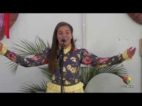 Laura Vitoria Bueno Resmini - Declamação - II Rodeio Artístico Nacional de Abdon Batista