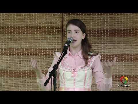 Julia Mallmann Tatsch - Declamação - II Rodeio Artístico Nacional de Abdon Batista