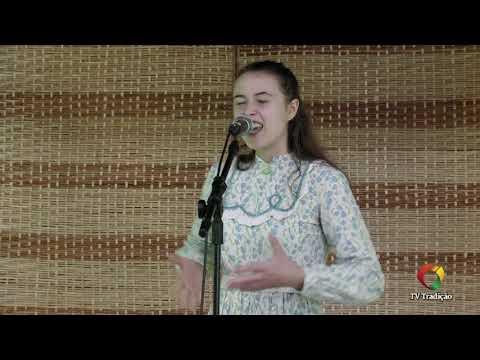 Micaele Hoppe - Declamação - II Rodeio Artístico Nacional de Abdon Batista