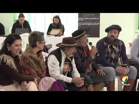 Conversa com avaliadores - Declamação - II Rodeio Artístico Nacional de Abdon Batista