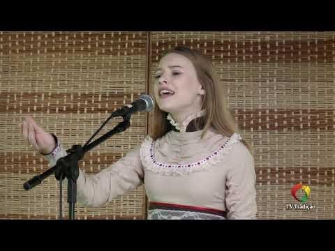 Laura Hahn Schu - Declamação - II Rodeio Artístico Nacional de Abdon Batista