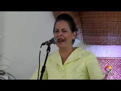 Paula Daniele Stringhi - Declamação - II Rodeio Artístico Nacional de Abdon Batista