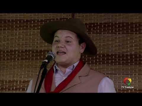 Gustavo Covatti Brustolin - Declamação - II Rodeio Artístico Nacional de Abdon Batista