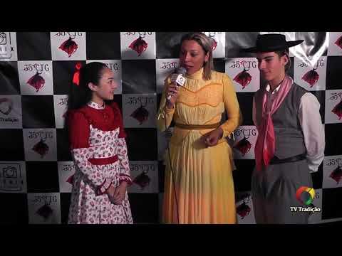 Entrevista: Felipe e Milena - Danças Tradicionais de Par - 4º Festival Pioneiro da Tradição