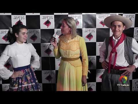 Entrevista: Leonardo e Maria Clara - Danças Tradicionais de Par - 4º Festival Pioneiro da Tradição